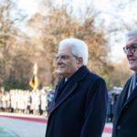 President of Italy Sergio Mattarella visited Italian embassy in Berlin